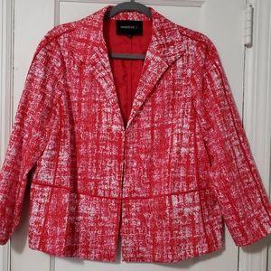 Lafayette 148 New York Italian Print Jacket
